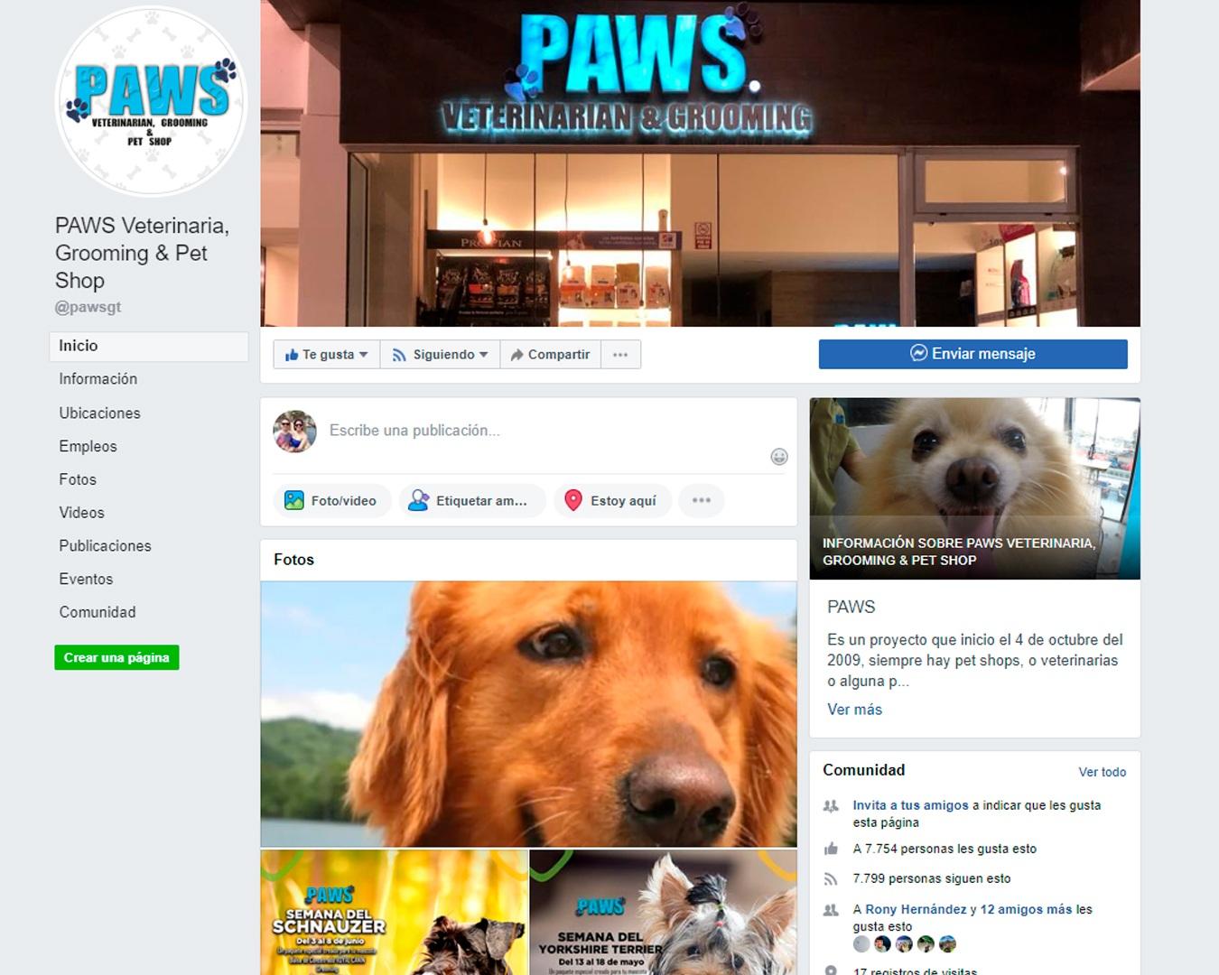 PAWS-Social